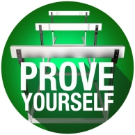 Prove Yourself Words Hurdles Face Challenge Obstacle